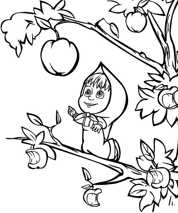 Masha Oso Para Colorear Los Mejores Dibujos Gratis