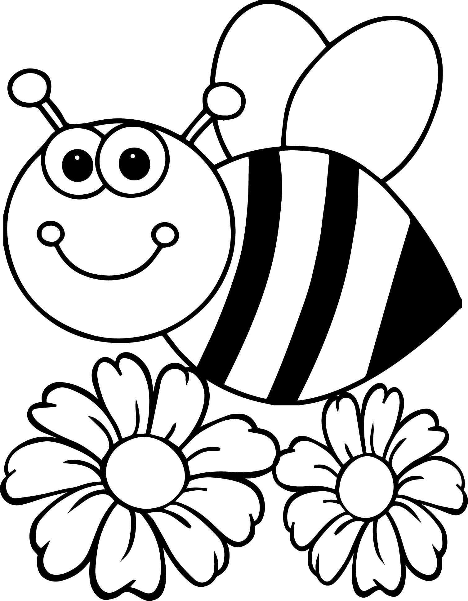 Black Bumble Bee >> Abejas para colorear 🥇 【DIBUJOS para descargar y Pintar】