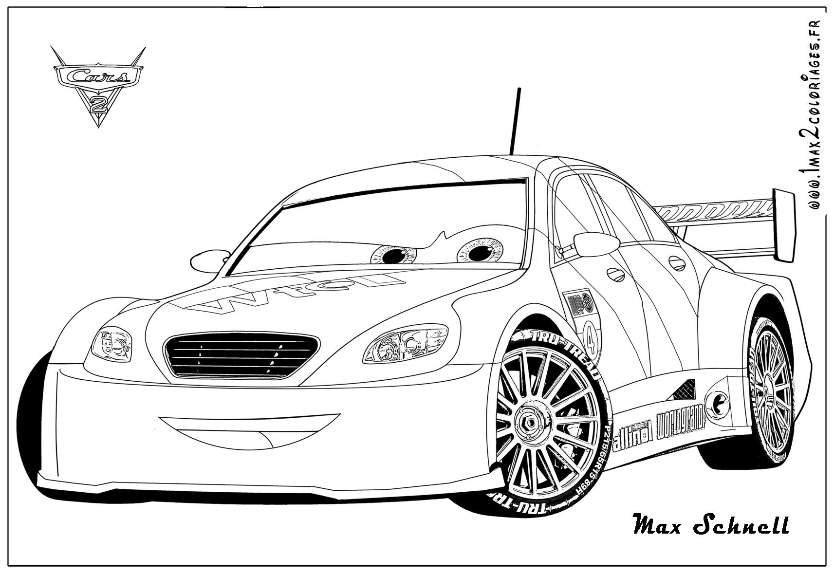 Cars para colorear ❺❺ 【DIBUJOS para descargar y Pintar】