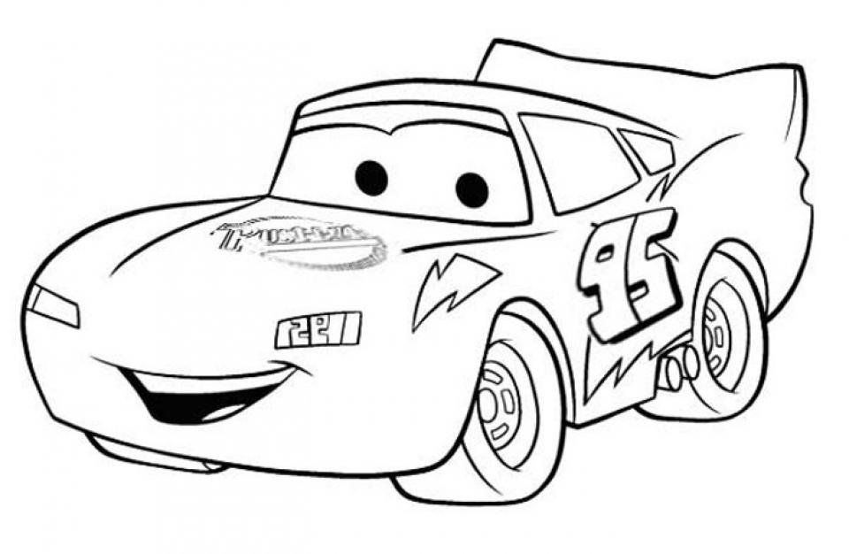 🥇 Cars para colorear 🥇 【 Dibujos para imprimir y pintar 】