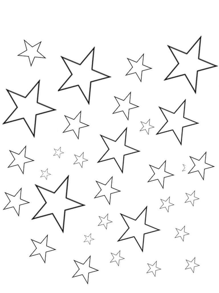 Estrellas para colorear 🥇 𝐃𝐢𝐛𝐮𝐣𝐨𝐬 𝐩𝐚𝐫𝐚
