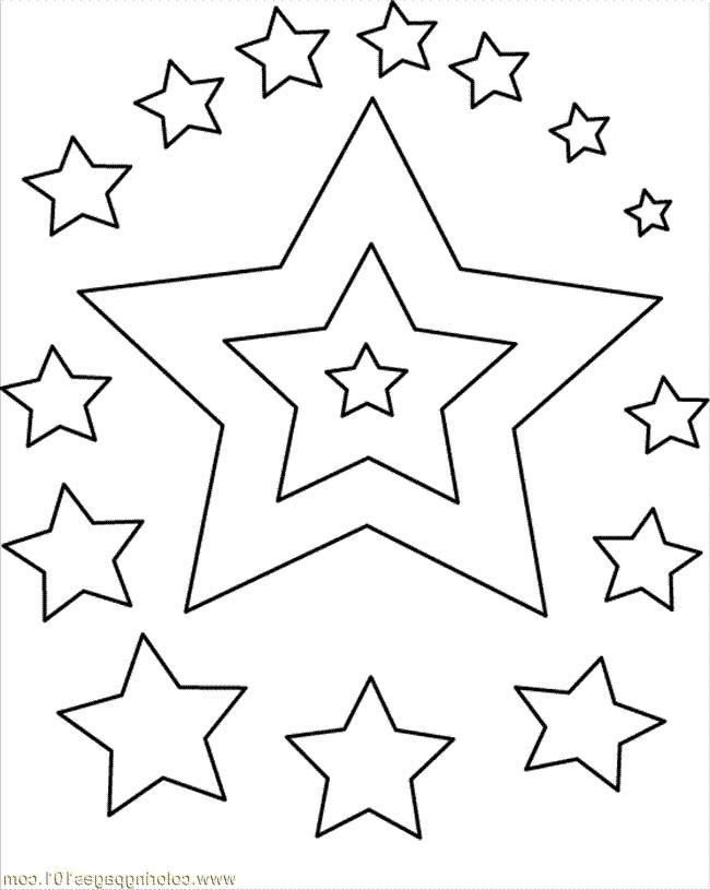 Estrellas Para Colorear 𝐃𝐢𝐛𝐮𝐣𝐨𝐬 𝐩𝐚𝐫𝐚 𝐢𝐦𝐩𝐫𝐢𝐦𝐢𝐫