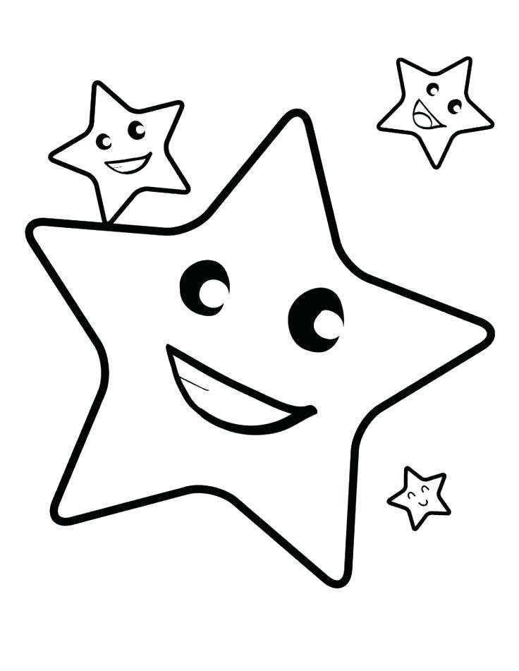 Estrellas Para Colorear 𝐃𝐢𝐛𝐮𝐣𝐨𝐬 𝐩𝐚𝐫𝐚