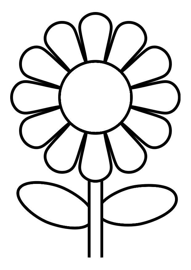 🥇 Flores para colorear 🥇 【 Dibujos para imprimir y pintar 】