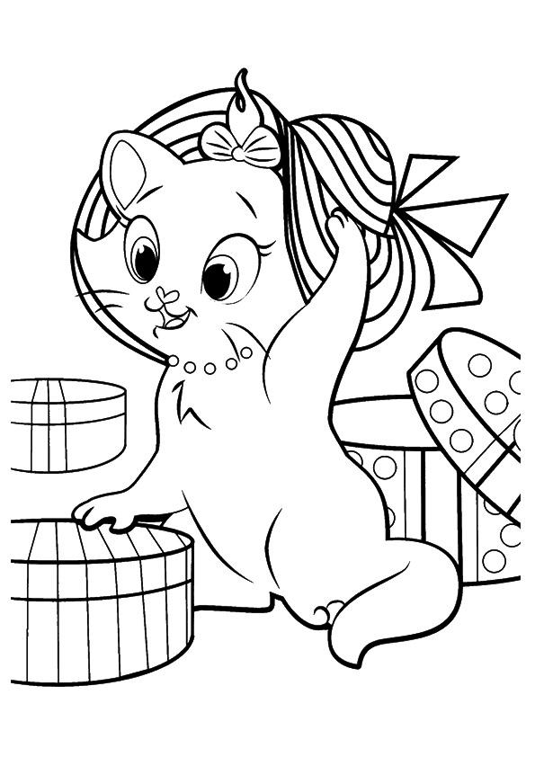 Gatos Para Colorear Dibujos Para Imprimir Y Pintar