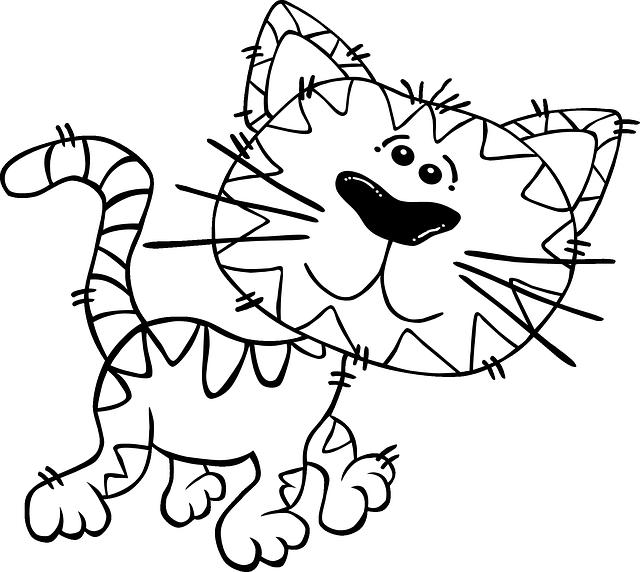 Gatos Para Colorear 𝐃𝐢𝐛𝐮𝐣𝐨𝐬 𝐩𝐚𝐫𝐚