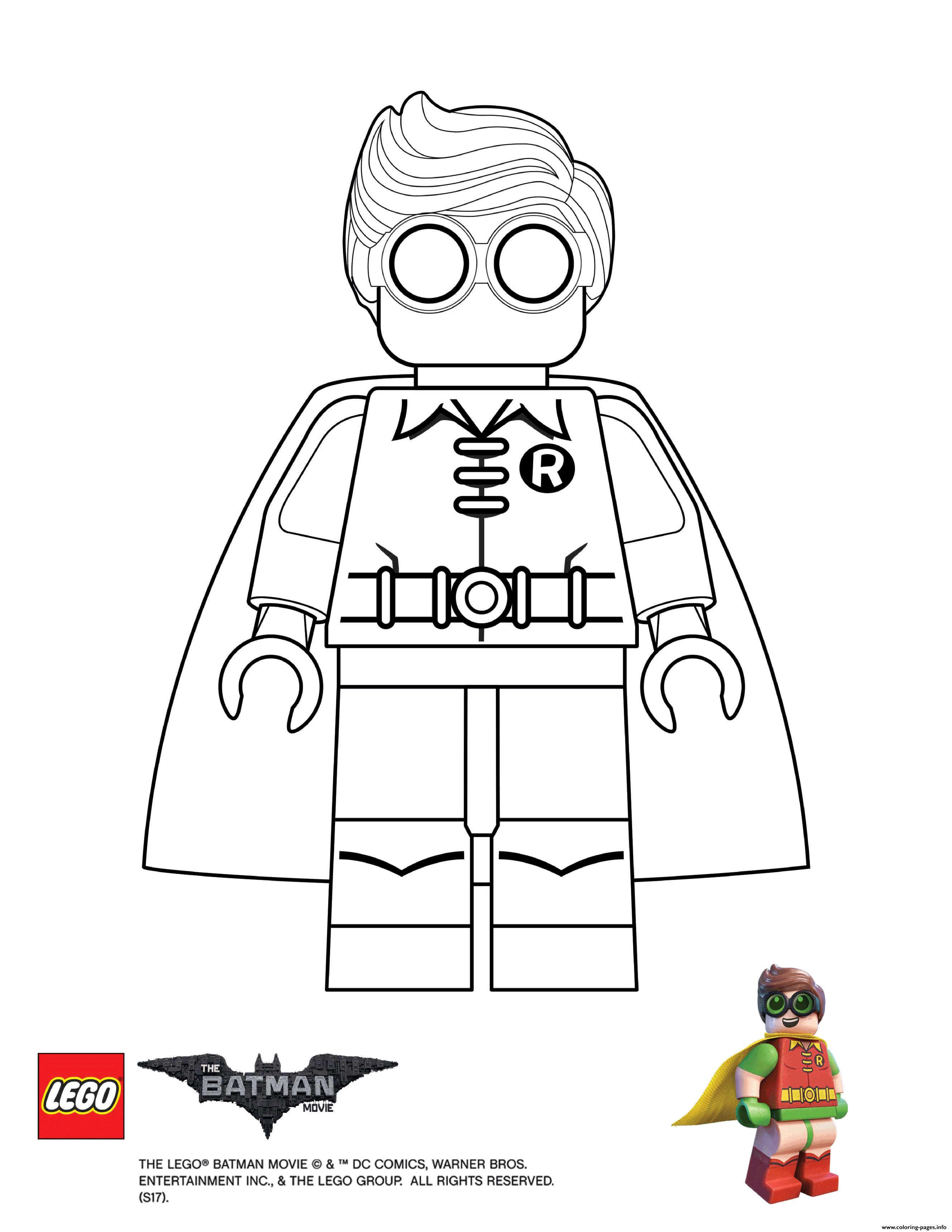 Lego para colorear - Los mejores ¡DIBUJOS! Gratis