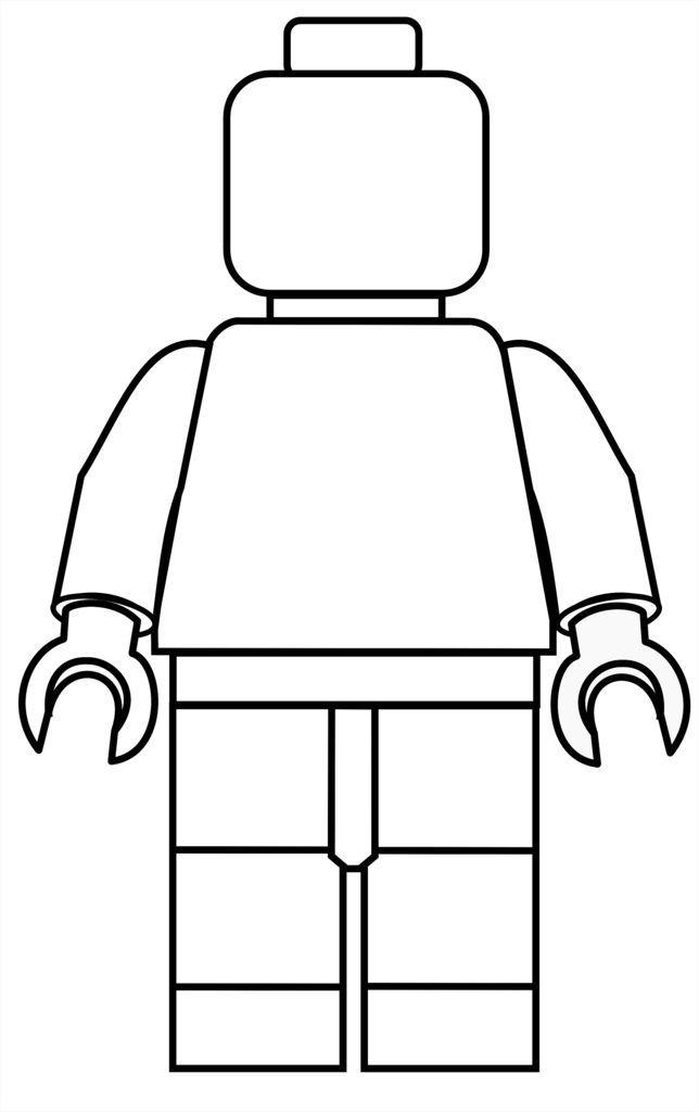 🥇 Lego para colorear 🥇 【DIBUJOS para descargar y Pintar】