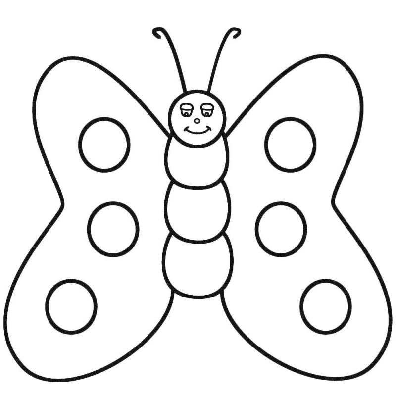 🥇 Mariposas para colorear 🥇 【 Dibujos para imprimir y pintar 】