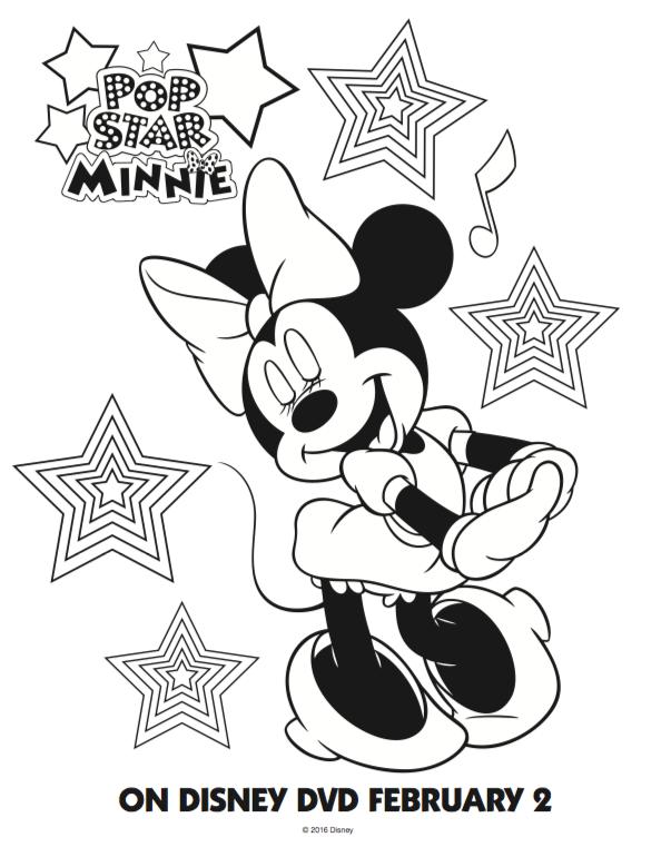 🥇 Minnie Mouse para colorear 🥇 【 Dibujos para imprimir y pintar 】