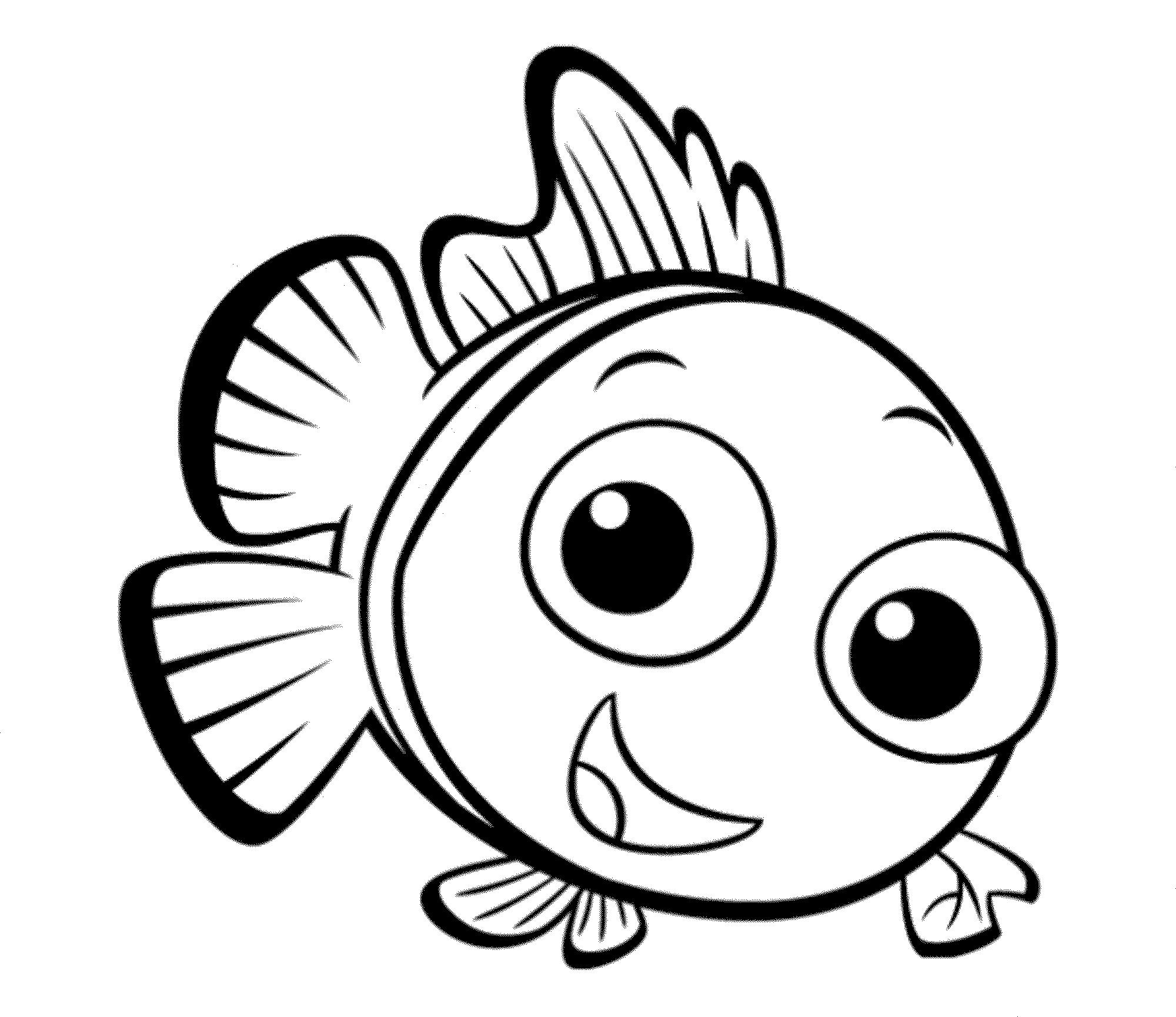 Nemo para colorear ❺❺ 【DIBUJOS para descargar y Pintar】