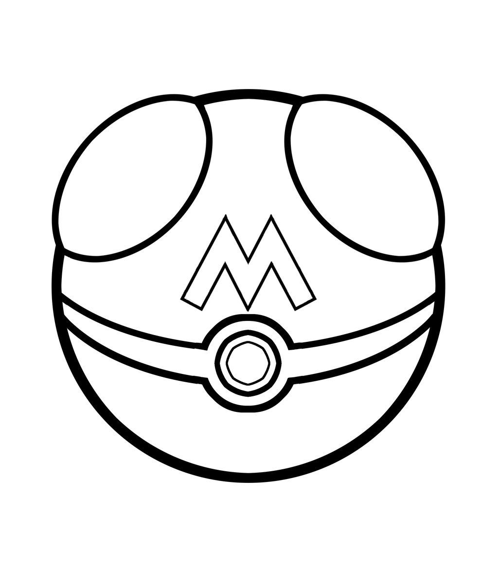 Pokemon para colorear ❺❺ 【DIBUJOS para descargar y Pintar】