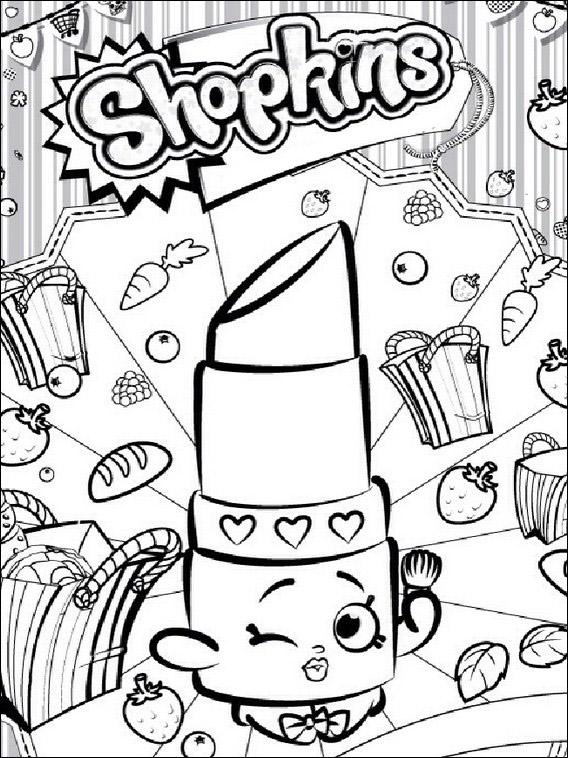 Shopkins Para Colorear 🥇 【dibujos Para Descargar Y Pintar】