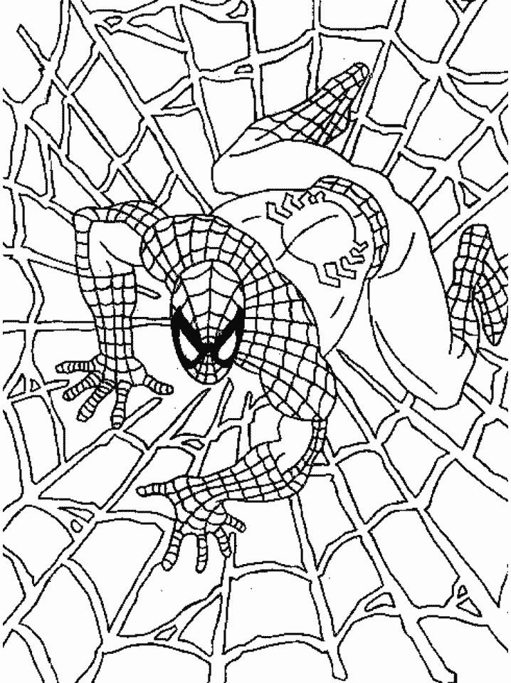 🥇 Spiderman para colorear 🥇 【DIBUJOS para descargar y Pintar】