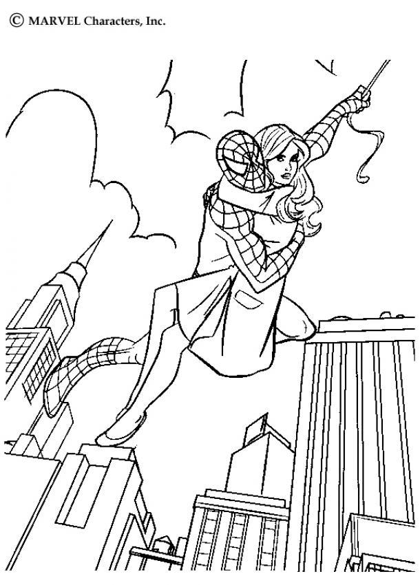 Spiderman Para Colorear 𝐃𝐢𝐛𝐮𝐣𝐨𝐬 𝐩𝐚𝐫𝐚