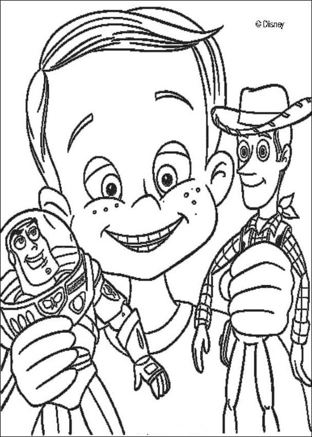 Toy Story Para Colorear 𝐃𝐢𝐛𝐮𝐣𝐨𝐬 𝐩𝐚𝐫𝐚