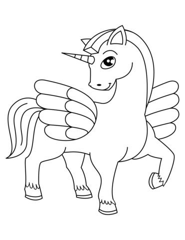 Unicornios Para Colorear Dibujos Para Imprimir Y Pintar